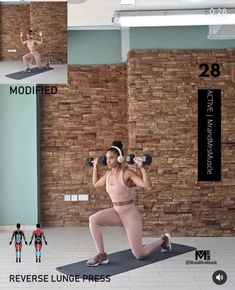 Fitness Workouts, Full Body Dumbbell Workout, Gym Workout Videos, Gym Workout For Beginners, Fitness Workout For Women, Body Fitness, 30 Minute Workout, Tabata, Exercises