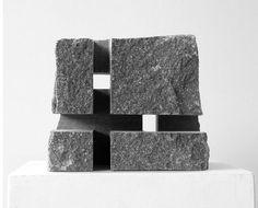 Flow Fine Art - Selected Artists Geometric Sculpture, Abstract Sculpture, Sculpture Art, Cubic Architecture, Concrete Design, Stone Sculpture, Interior Design Studio, Door Design, Ceramic Art