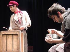 Imagen del espectáculo de teatro en inglés para secundaria Oliver Twist.