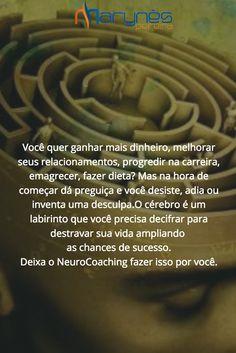 O cérebro é um labirinto #nobrainnogain