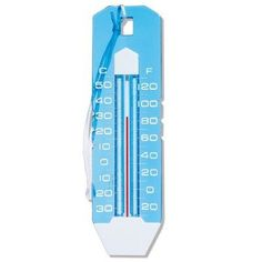 Poolmaster 25291 Jumbo Thermometer by PoolMaster. $14.99. Large easy-to-read numbers. Temperature ranges to a maximum high of 120-degree Fahrenheit and 50-degree Celsius. Floating thermometer for use in pool or spa. Polyethylene cord included. Alcohol Based; Easy-to-read indicator, numbers, and markings. Since 1958, Poolmaster, a leading manufacturer of aftermarket pool and spa products, has had an unwavering commitment to quality, service and reliability. Poolmaster ...