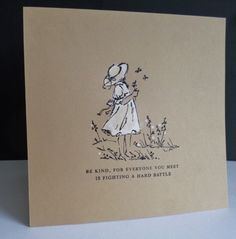 IC544 ~ Be Kind - her inspiration was https://uk.pinterest.com/pin/387591111662403741/