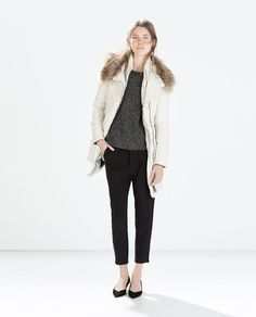 ZARA - WOMAN - JACKET WITH DETACHABLE HOOD
