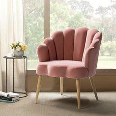 Velvet Accent Chair, Velvet Armchair, Pink Velvet Chair, Pink Accent Chair, Swivel Armchair, Wingback Chair, Pink Couch, Velvet Chairs, Kallax