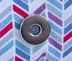 Tuto technique : Installer un fermoir magnétique en 4 étapes - Les tutos couture de Dodynette