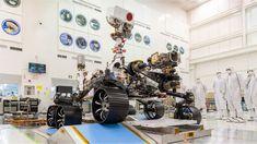 Perseverance: las imágenes que está enviando el robot de la NASA desde Marte - BBC News Mundo Sistema Solar, Bbc News, Nasa Rover, Mars Landing, United Launch Alliance, Curiosity Rover, Mission To Mars, Brazil, Planets