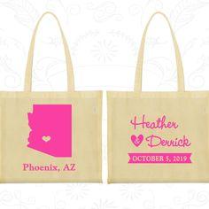 Wedding Bags, Tote Bags, Wedding Tote Bags, Personalized Tote Bags, Custom Tote Bags, Wedding Welcome Bags, Wedding Favor Bags (102)