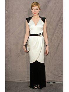 Michelle Williams in Chanel.