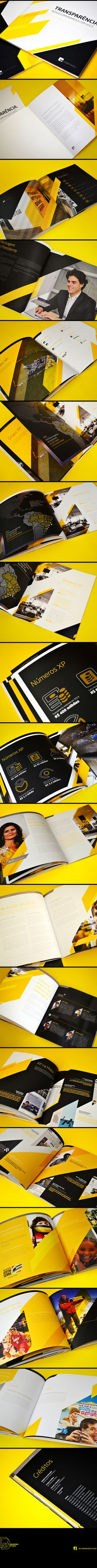 Annual Report XP Investimentos on Behance