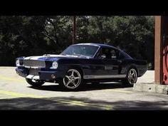 THE INCREDIBLE 1966 MUSTANG SHELBY GT350 CR | HOT CARS