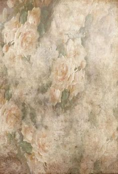 Vintage Grunge Soft Flowers Backdrop for Photography GA-65 – Dbackdrop