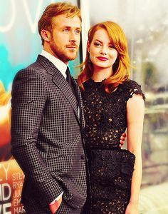 Ryan Gosling and Emma Stone... they look so good together!