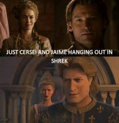 Game Of Thrones Vs Shrek #Cersel, #Jaime