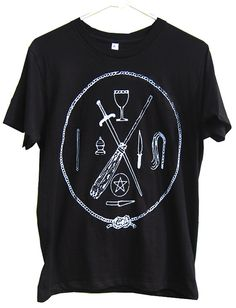Witch Tools T-Shirt sizes S-M-L-XL
