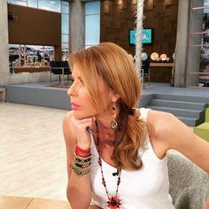 Jenny Balatsinou wearing Klaidra friendship bracelets #jennygr #klaidrajewelry