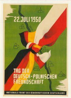 Tag der Deutsch-Polnischen Freundschaft 22. Juli 1950
