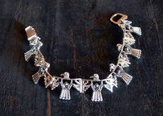"""Cowgirl Bling PHOENIX THUNDERBIRD EAGLE Southwest Western Bracelet 6.5"""" #ICON"""