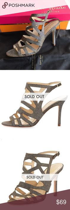 Kate Spade ILLIA Strappy Sandal Never Worn - Bronze Color - Shimmering - Goes with everything - Strappy Sandal kate spade Shoes Heels