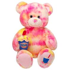 Retired Build A Bear Workshop Strawberry Cheesecake DQ Dairy Queen Blizzard BABW Summer Series Collection Unstuffed BAB Teddy Toy Animal Brand New with Tags RARE In Stock Now @ http://www.bonanza.com/booths/TweetToyShop