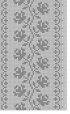 beaded wrist warmers pattern - roses§ schema di ricamo per scaldapolsi §