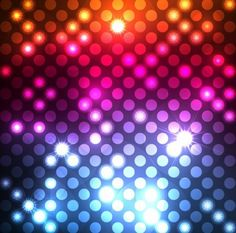 Abstract Light Dots Background Vector Graphic