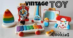 Vintage Toy Cookies @SweetSugarBelle