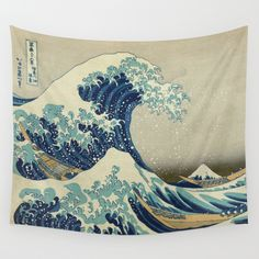 Buy The Great Wave off Kanagawa by Palazzo Art Gallery as a high quality Wall Tapestry. Worldwide shipping available at Society6.com. Just one of millions of products available.