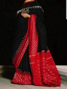 Elegant Fashion Wear Explore the trendy fashion wear by different stores from India Phulkari Saree, Sambalpuri Saree, Ikkat Saree, Lehenga, Trendy Sarees, Stylish Sarees, Fancy Sarees, Cotton Saree Designs, Pattu Saree Blouse Designs