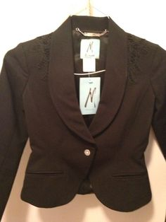 Item: Black blazer by Marciano
