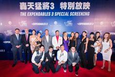 The stars shone brightly Friday night at #TheVenetianTheatre, as international icons Sylvester Stallone and Arnold Schwarzenegger walked the red carpet at The #VenetianMacao for Asia's only special screening of their latest film, the #Expendables3 .