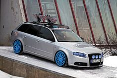 Stance Inspiration - Get inspired by the lowered.: Photo   See more about Audi A4, Snow and Audi A3.