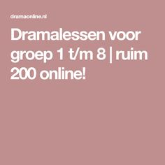 Dramalessen voor groep 1 t/m 8   ruim 200 online! Mad Science, Love Games, Too Cool For School, Teaching, Education, Classroom Ideas, Theater, Stage, Atelier
