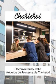 Enfin une Auberge de Jeunesse à Charleroi!  Découvre là en détails sur le blog des Auberges de Jeunesse. Le Wifi, Storage, Blog, Furniture, Home Decor, Youth, Baby Born, Purse Storage, Decoration Home
