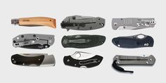 EDC BLADES: THE 10 BEST EVERYDAY CARRY KNIVES  Never leave home without it.  Folding Blade