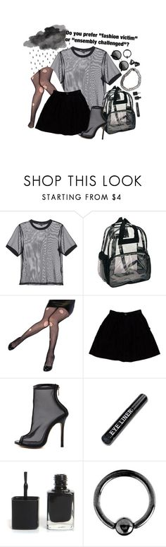 """fashion victim"" by celestial-wondr ❤ liked on Polyvore featuring 3x1, Opening Ceremony, WithChic and Urbiana"