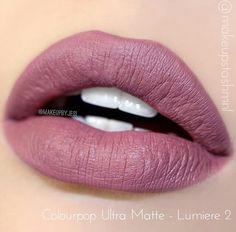 ColourPop Ultra Matte Liquid Lipstick Lumiere 2 for sale online Lipstick Swatches, Makeup Swatches, Lipstick Shades, Lipstick Colors, Liquid Lipstick, Lipsticks, Matte Lipstick, Lip Colours, Dead Makeup