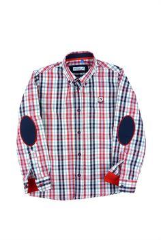 Nachete camisa de cuadros San Carlos Baby Kids Clothes, Sewing For Kids, Boys Shirts, Kids Wear, Kids Boys, Boy Fashion, Casual Shirts, Kids Outfits, Street Wear