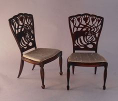 Art Nouveau Chair by Keith Bougourd
