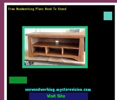Free Woodworking Plans Wood Tv Stand 101942 - Woodworking Plans and Projects!