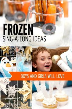 Frozen Sing Along Party Ideas - Spaceships and Laser Beams