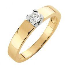#Vihkisormus - KRAKOWA - #MalminKorupaja. #Timanttisormus. #Keltakulta, #valkokulta istutus. #Diamond #ring by Malmin Korupaja. #Wedding ring. #Yellowgold, #whitegold setting.
