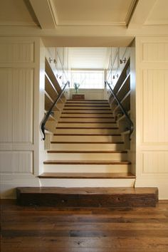 Private Residence 2 - traditional - staircase - charlotte - Pursley Dixon Architecture