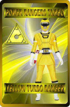 Yellow Turbo Ranger by rangeranime on @DeviantArt