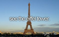 Would like to do before i Die