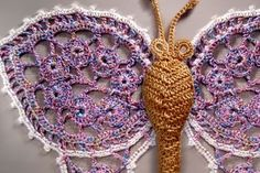 MyPicot | Free crochet patterns - 7007 Butterfly