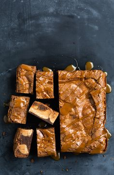 Condensed milk fudge swirl brownie We've taken chocolate brownies and made them next-level amazing, thanks to the addition of condensed milk. Chocolate Snacks, Chocolate Recipes, Chocolate Brownies, Brownie Recipes, Dessert Recipes, Bar Recipes, Recipies, Food Styling, Donuts