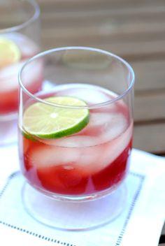 """The """"El Diablo"""" - 1 1/2 oz tequila, 1/2 oz creme de cassis, 1/2 oz lime juice, 1 1/2 oz ginger ale. Yes please."""