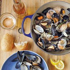 Beer-Steamed Clams and Mussels | CookingLight.com