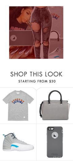 """""""Memo-Young Thug"""" by litlike-dest ❤ liked on Polyvore featuring MICHAEL Michael Kors and OtterBox"""