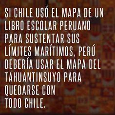 Si Chile lleva un libro de historia, xq nosotros, no?